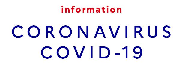 Informations liées au Coronavirus
